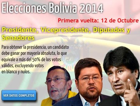 eleciones bolivia 2014