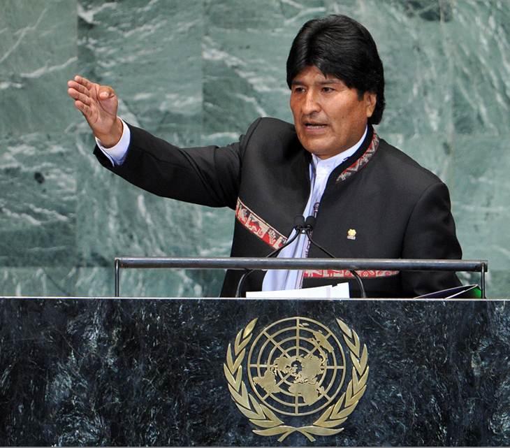 """Morales inaugura I Cumbre Indígena y exige  """"compromiso y respeto"""" de los países desarrollados"""