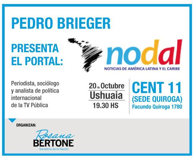 Nodal Ushuaia Pedro Brieger