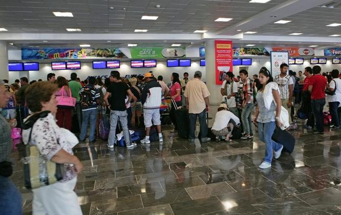 aeropuerto cancun nodal