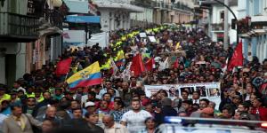 Ecuador: sindicatos opositores y organizaciones indígenas marchan en varias ciudades del país