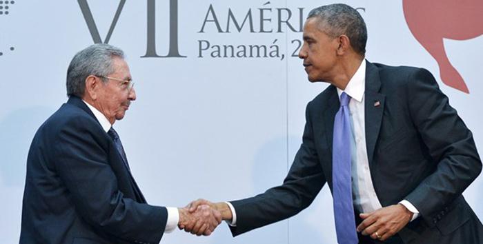 Cumbre de las Américas: reunión de Castro y Obama luego del plenario de presidentes  centrado en las relaciones de EEUU con Cuba y Venezuela