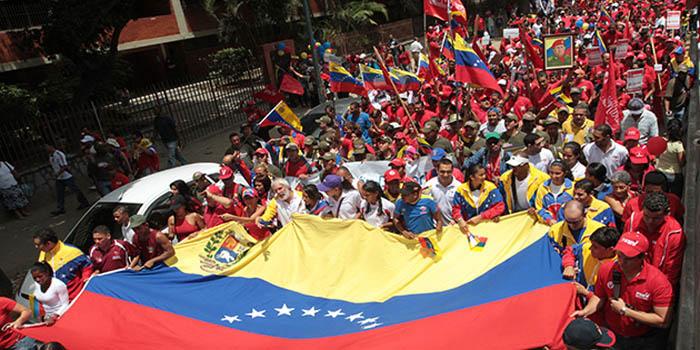 Venezuela: miles de venezolanos se movilizaron en defensa de la soberanía nacional