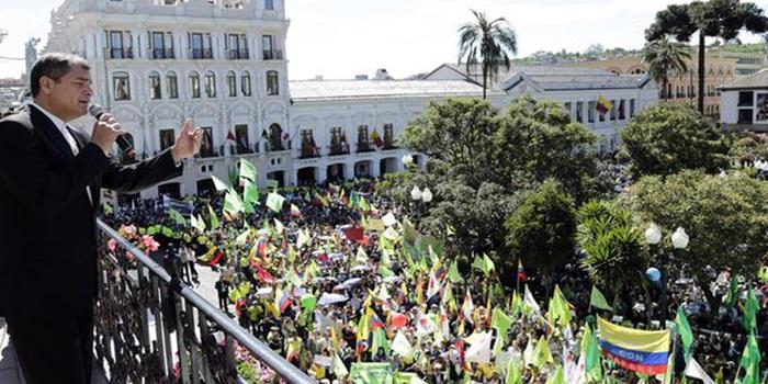 Ecuador: tras protestas, Correa retira temporalmente proyectos de ley sobre impuestos de herencia y plusvalía
