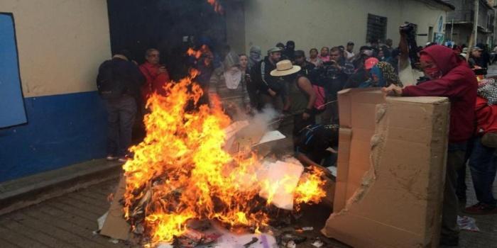 Cierra jornada electoral en México, teñida por fuertes protestas en los Estados de Oxaca y Guerrero