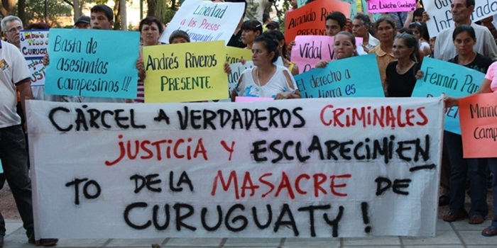 Caso Curuguaty: inicia el juicio a 13 campesinos paraguayos y no hay ningún policía imputado