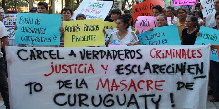 Caso Curuguaty en Paraguay: Con una nueva defensa para los acusados, el juicio se posterga hasta la próxima semana