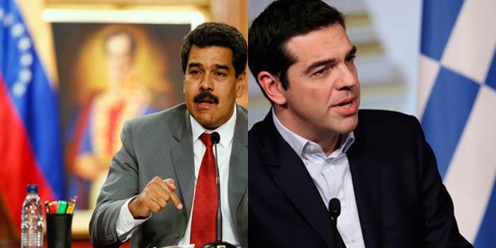 Presidente Maduro felicita al pueblo griego por triunfo del No en el referendo