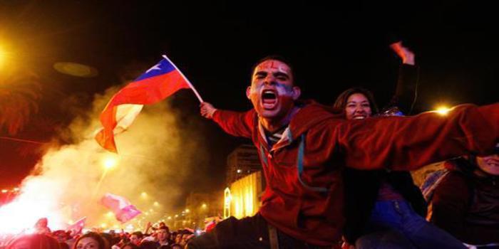 Todo Chile celebró a los campeones de América