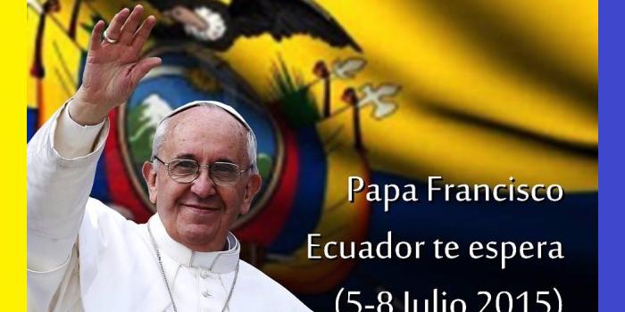 Ecuador: crece la expectativa por la llegada de Francisco en el día de mañana y el presidente Correa asistirá a la misa papal en Quito