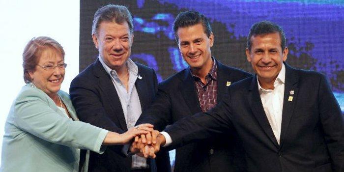 Alianza del Pacífico: la cumbre presidencial cerró con la firma de Acuerdo Marco para integración económica