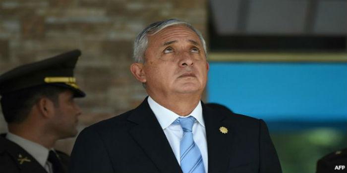 Guatemala: por unanimidad recomiendan retirar inmunidad al presidente Otto Pérez Molina para investigarlo por corrupción