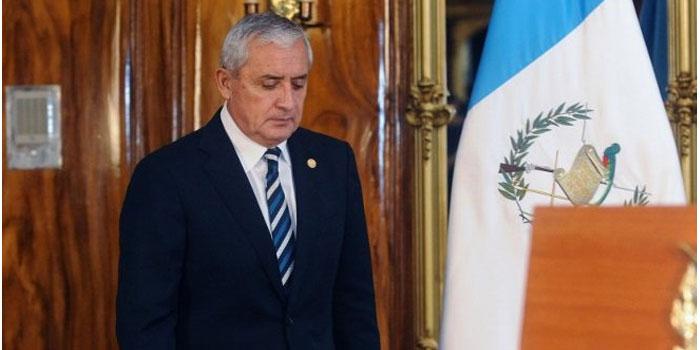 Guatemala: presentan recurso legal para establecer el paradero del presidente Otto Pérez Molina