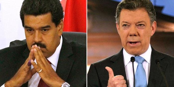 Tensión bilateral: Maduro ordenó extender el cierre de la frontera y Santos viaja a la zona limítrofe