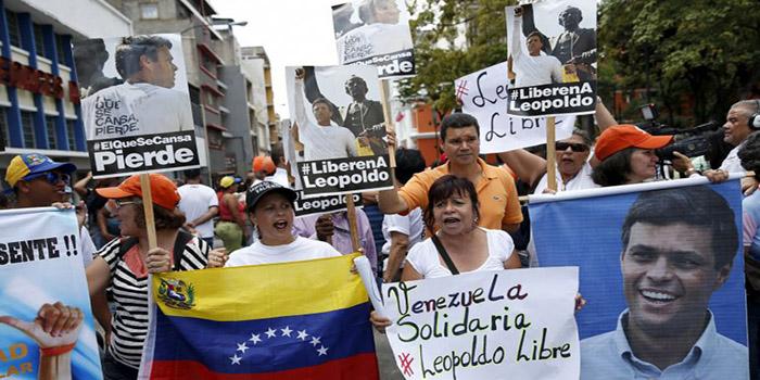 Venezuela: El dirigente Leopoldo López convoca desde la cárcel a una manifestación para el 19 de septiembre