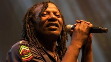 Le chanteur de Reggae Alpha Blondy en concert a Nice     Alamo / Reporters