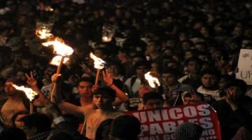 antorchas ayotzinapa