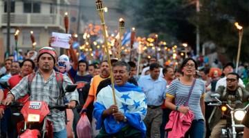 indigandos-paro-nacional-honduras  LA TRIBUNA.hn 25.08.15