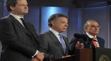 """Desde la Casa de Nariño, el Presidente aseveró que """"el Gobierno no puede permitir que ningún colombiano, en cualquier zona que se acuerde para la dejación de armas,  quede desprotegido, como ocurrió en el Caguán""""."""