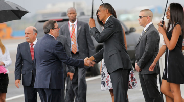 nodal llegada obama cuba