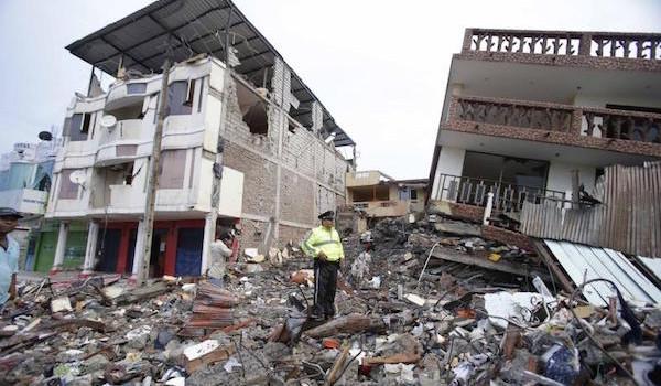 Ecuador-Terremoto