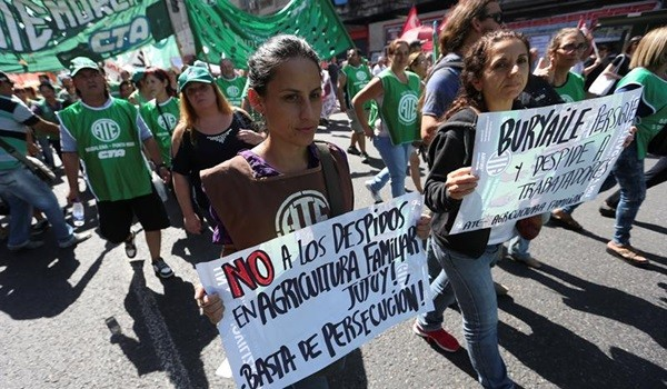Protesta-sindical-en-Buenos-Aires.-EFE