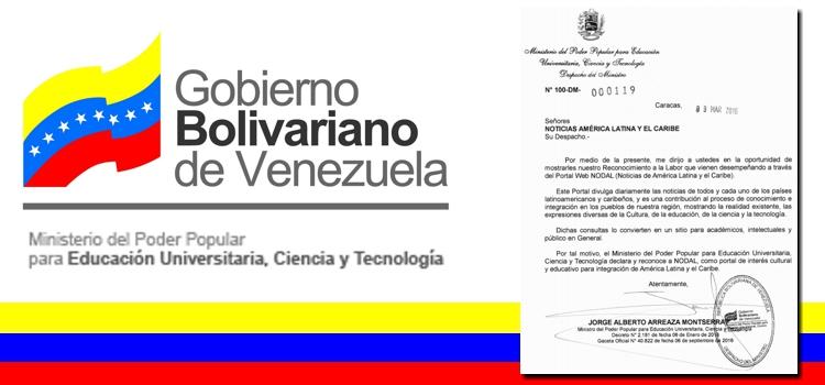 Venezuela NODAL