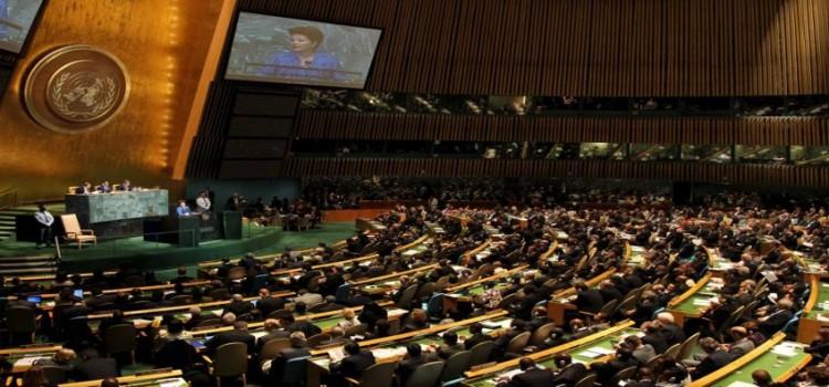 Nova Iorque - EUA, 21/09/2011. Presidenta Dilma Rousseff durante abertura do Debate Geral da LXVI Assembleia-Geral das Nações Unidas. Foto: Roberto Stuckert Filho/PR.