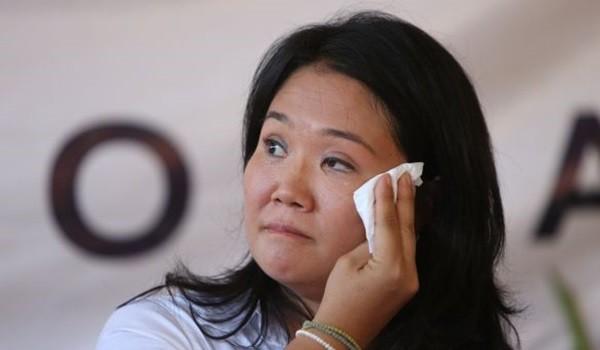 CANDIDATA PRESIDENCIAL KEIKO FUJIMORI PRESENTA SU EQUIPO DE TRABAJO PARA EL TEMA DE SEGURIDAD.