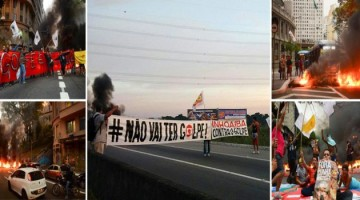 manifestantes pro dilma