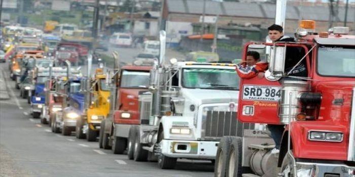 paro camiones