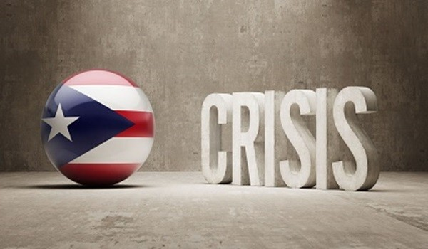 Puerto Rico High Resolution Crisis Concept