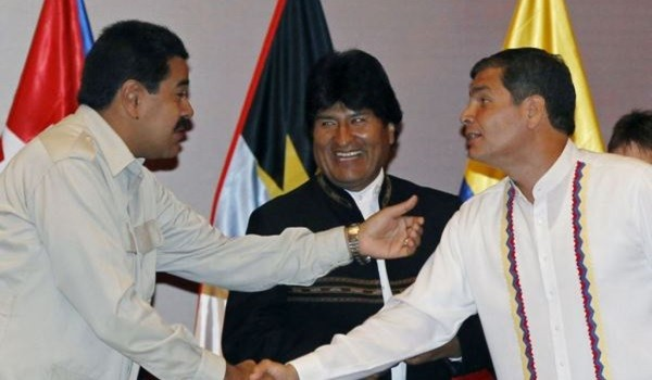 Maduro-Morales-Correa