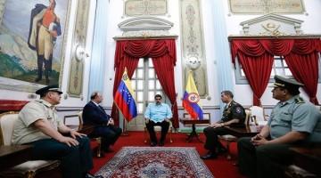 Maduro-se-reunió-con-ministro-colombiano-600x400