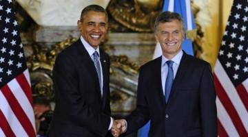 Obama Macri