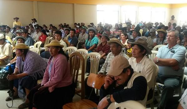 Federación de Campesinos de Tarija, convoca a ampliado para consensuar reglamento del PROSOL