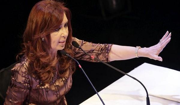 """zzzznacp2NOTICIAS ARGENTINAS BAIRES ABRIL 20: La exmandataria Cristina Kirchner  Al encabezó un acto en el teatro ND Ateneo, en la que sostuvo que """"no son buenos tiempos para nadie"""" y remarcó que """"el  gran desafío"""" que tiene el FPV y aliados es """"formar un frente  ciudadano que logre instalar en la sociedad que hay un piso de  derechos"""".FOTO NA: MARIANO SANCHEZ-JLP zzzz"""