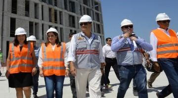 ACT agenda del Presidente Correa en Guayaquil, parque samanes, obra hospital del IESS en Ceibos , estadio Capwel Foto Miguel Castro 18_08_16_MC_ACT_AGENDA_CORREA