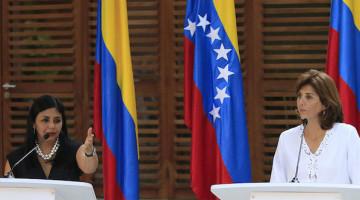 REUNIÓN BILATERAL CANCILLERES COLOMBIA VENEZUELA