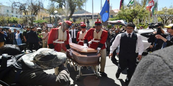 velatorio ministro bolivia