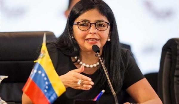 La-canciller-Delcy-Rodríguez