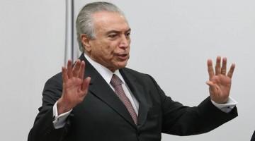 16/05/2016- Brasília- DF, Brasil-  16-05-2016- O presidente interino, Michel Temer, durante reunião com organizadores da olímpiada do Rio. Foto Lula Marques/Agência PT