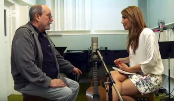 """Silvio-Rodríguez-entrevistado-por-el-programa-""""Aquí-estoy""""-de-la-cadena-alemana-Deutsche-Welle-DW"""
