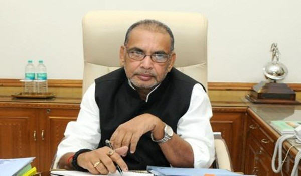 Shri Radha Mohan Singh taking charge as the Union Minister for Agriculture, in New Delhi on May 28, 2014.