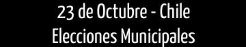 Elecciones Municipales Chile