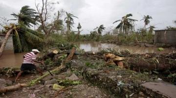 elecciones haiti destrozos