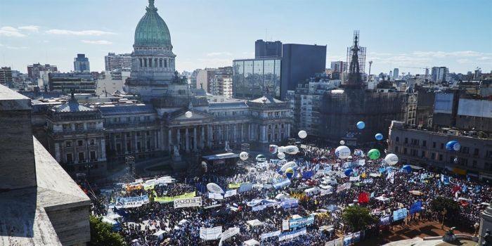 emergencia social marcha