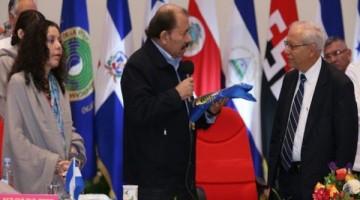 Rosario-Murillo-Daniel-Ortega-y-el-Vicepresidente-de-Costa-Rica-Helio-Fallas.-Cortesía-El19digital.com_-660x330
