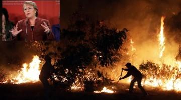 Bachelet-incendios