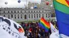 Chile: Bachelet encabezó un inédito acto con todos los poderes del Estado a favor del matrimonio igualitario